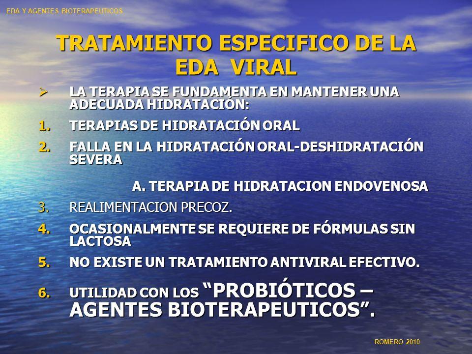 TRATAMIENTO ESPECIFICO DE LA EDA VIRAL