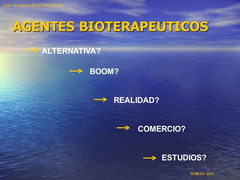 AGENTES BIOTERAPEUTICOS