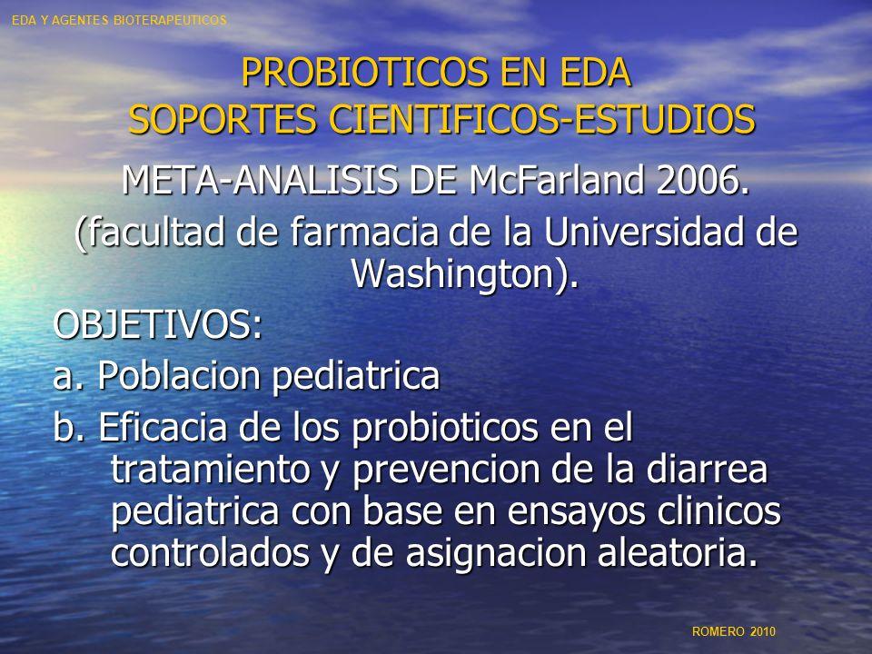 PROBIOTICOS EN EDA SOPORTES CIENTIFICOS-ESTUDIOS