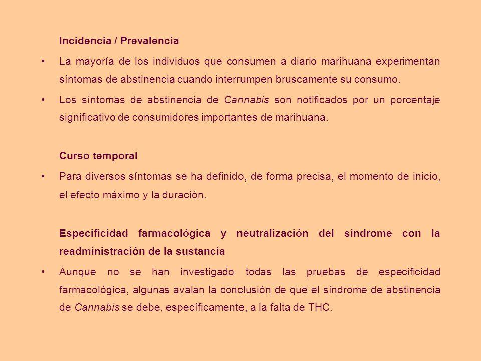 Incidencia / Prevalencia