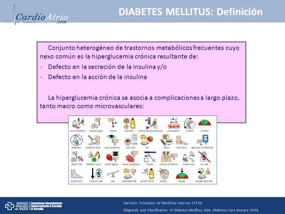 DIABETES MELLITUS: Definición