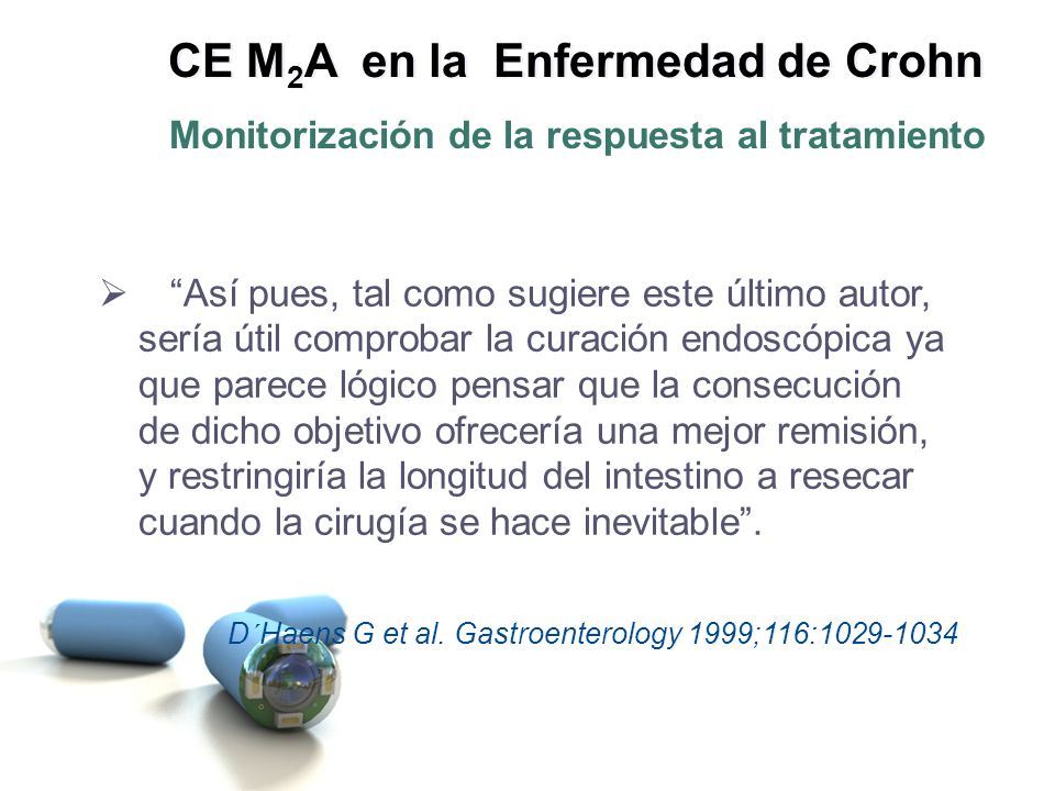 CE M2A en la Enfermedad de Crohn