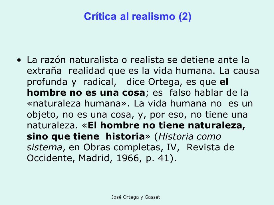 Crítica al realismo (2)