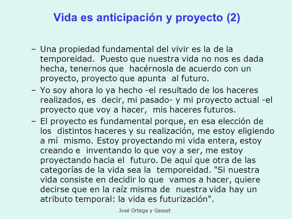 Vida es anticipación y proyecto (2)