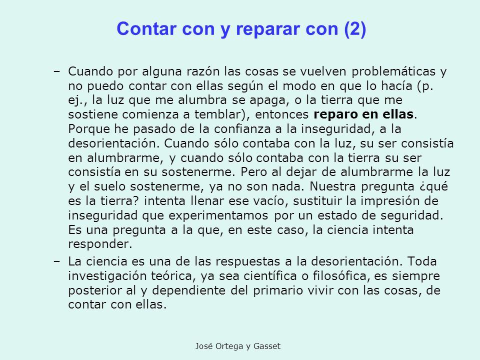 Contar con y reparar con (2)