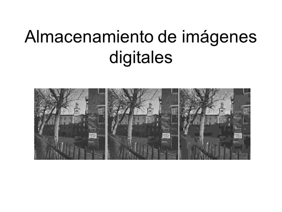 Almacenamiento de imágenes digitales
