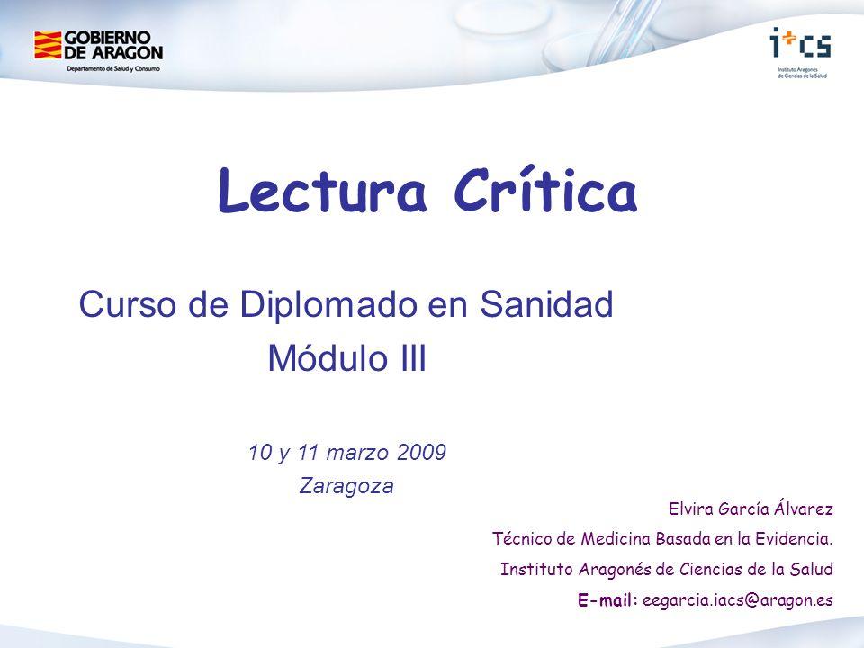 Curso de Diplomado en Sanidad
