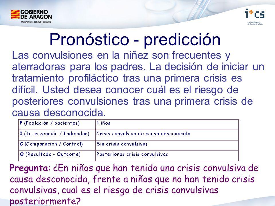 Pronóstico - predicción