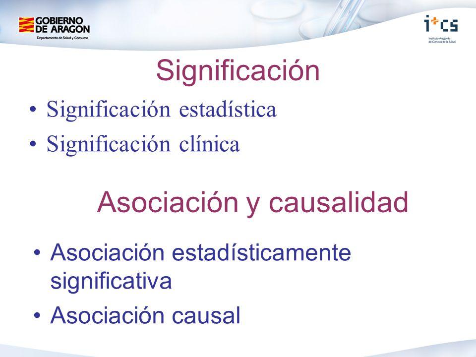 Asociación y causalidad