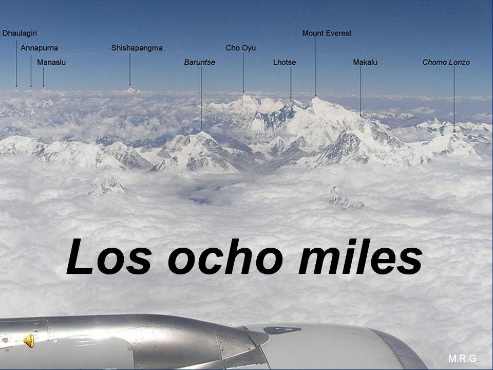 Los ocho miles M.R.G.