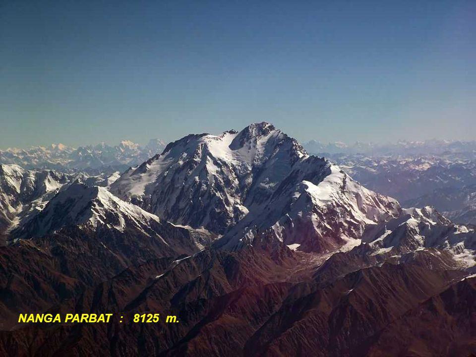 NANGA PARBAT : 8125 m.