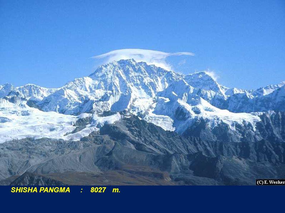 SHISHA PANGMA : 8027 m.