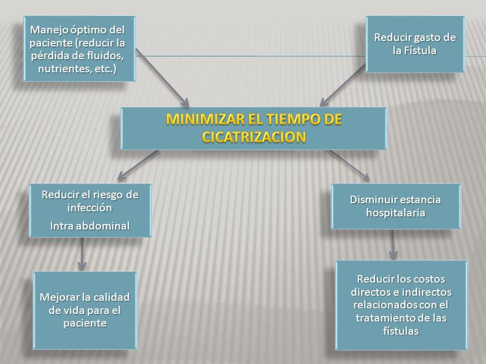 MINIMIZAR EL TIEMPO DE CICATRIZACION