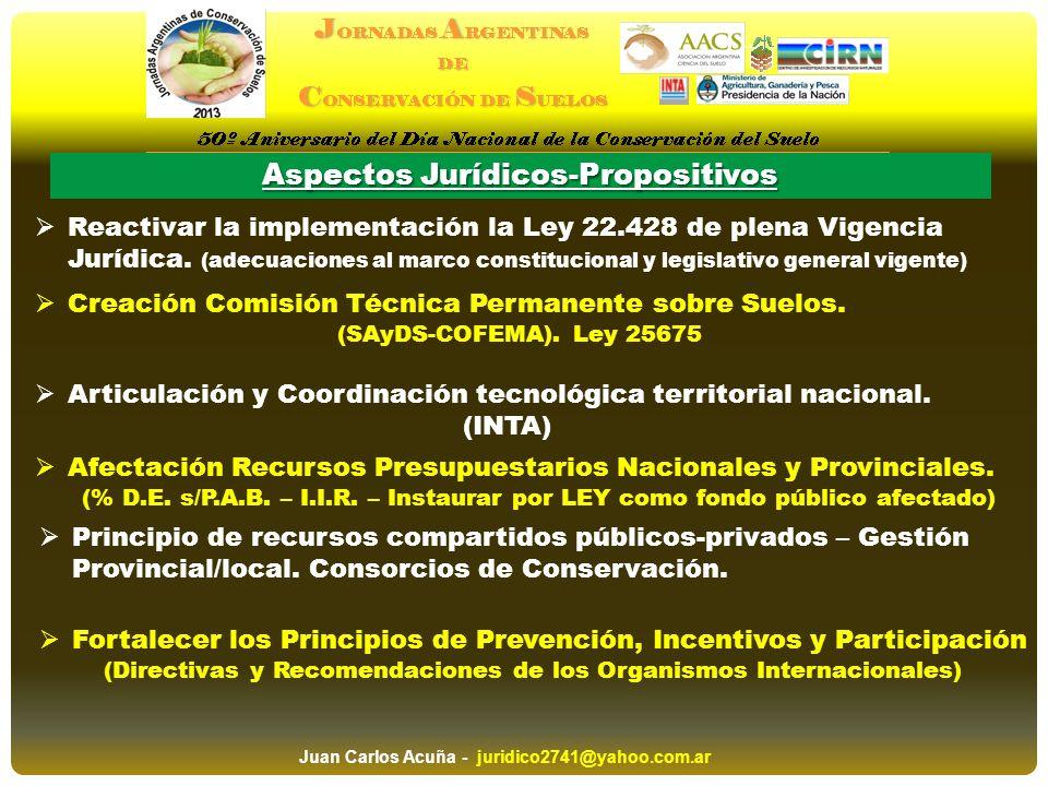 Aspectos Jurídicos-Propositivos