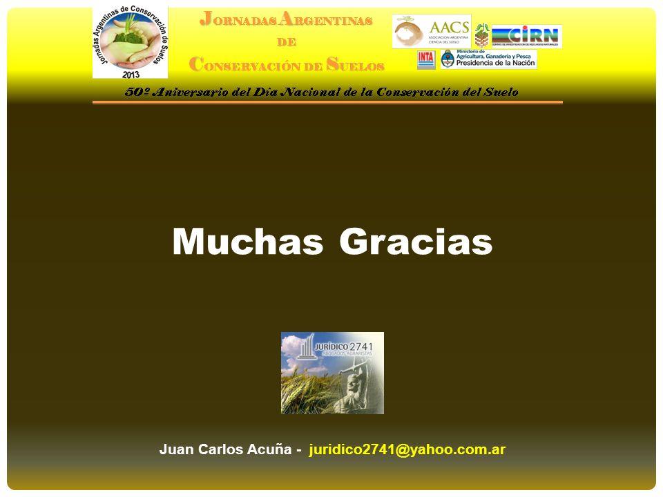 Juan Carlos Acuña - juridico2741@yahoo.com.ar