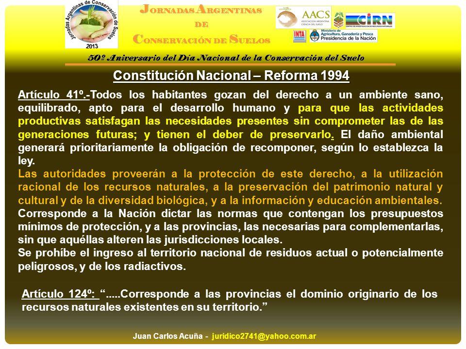 Constitución Nacional – Reforma 1994