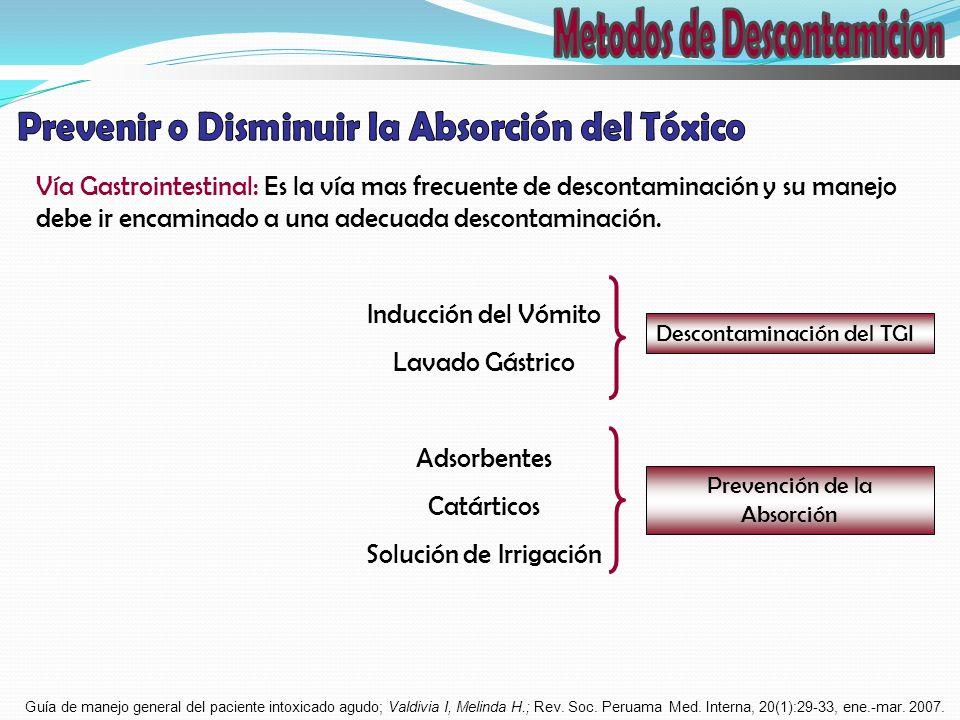 Metodos de Descontamicion