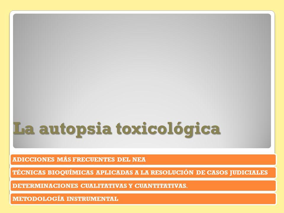 La autopsia toxicológica