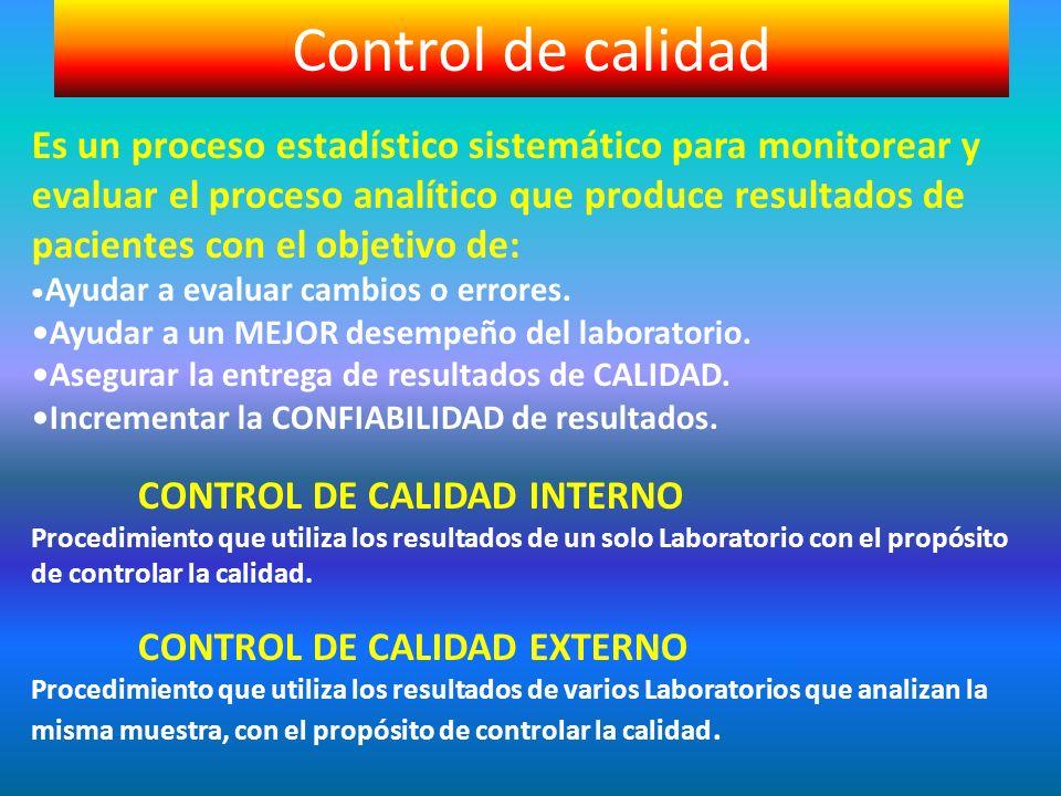 Control de calidad