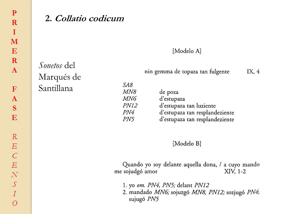 Sonetos del Marqués de Santillana