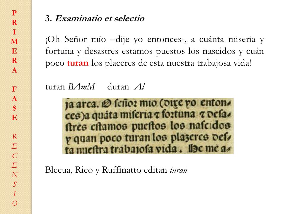 Blecua, Rico y Ruffinatto editan turan