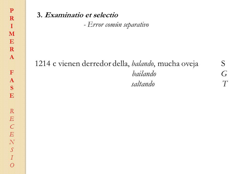 1214 c vienen derredor della, balando, mucha oveja S
