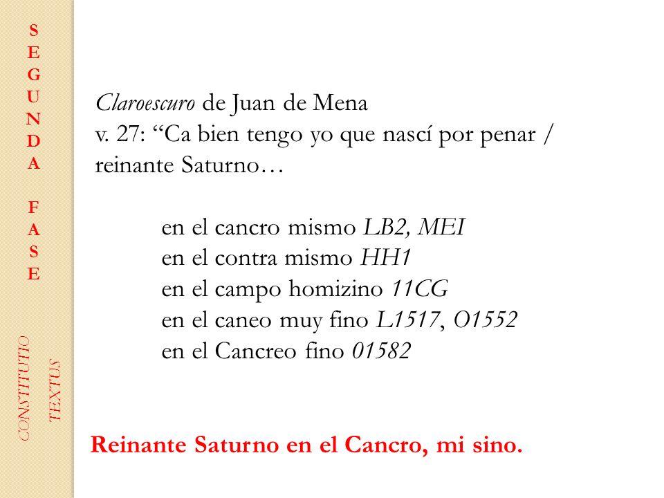 Claroescuro de Juan de Mena
