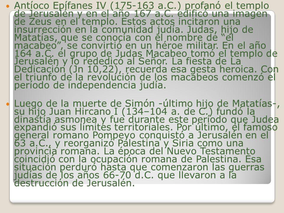 Antíoco Epífanes IV (175-163 a. C