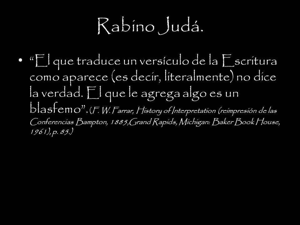 Rabino Judá.