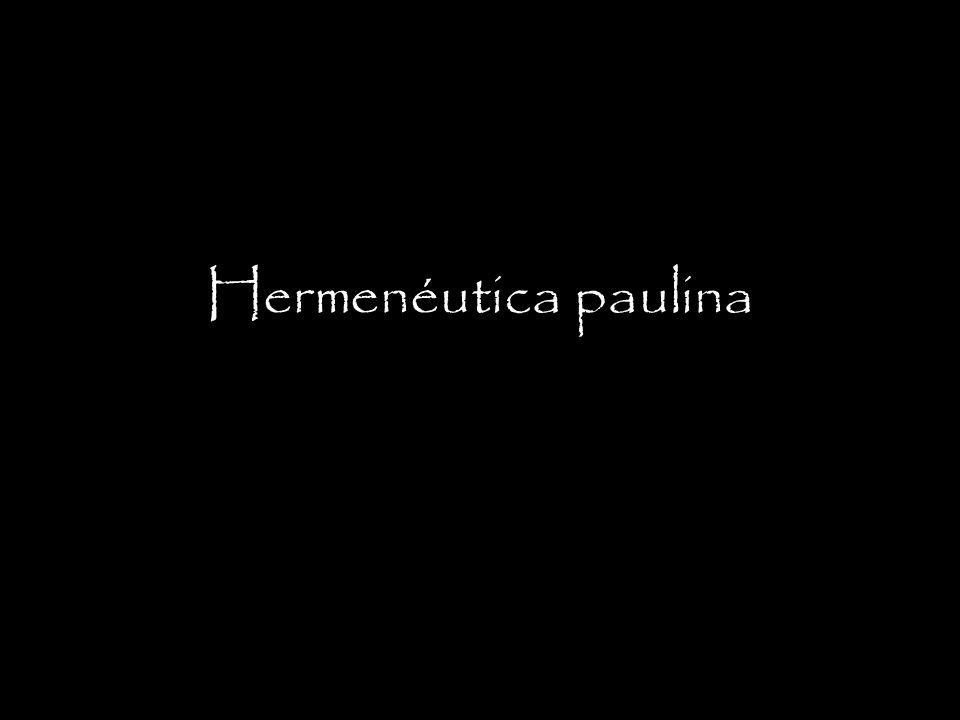 Hermenéutica paulina