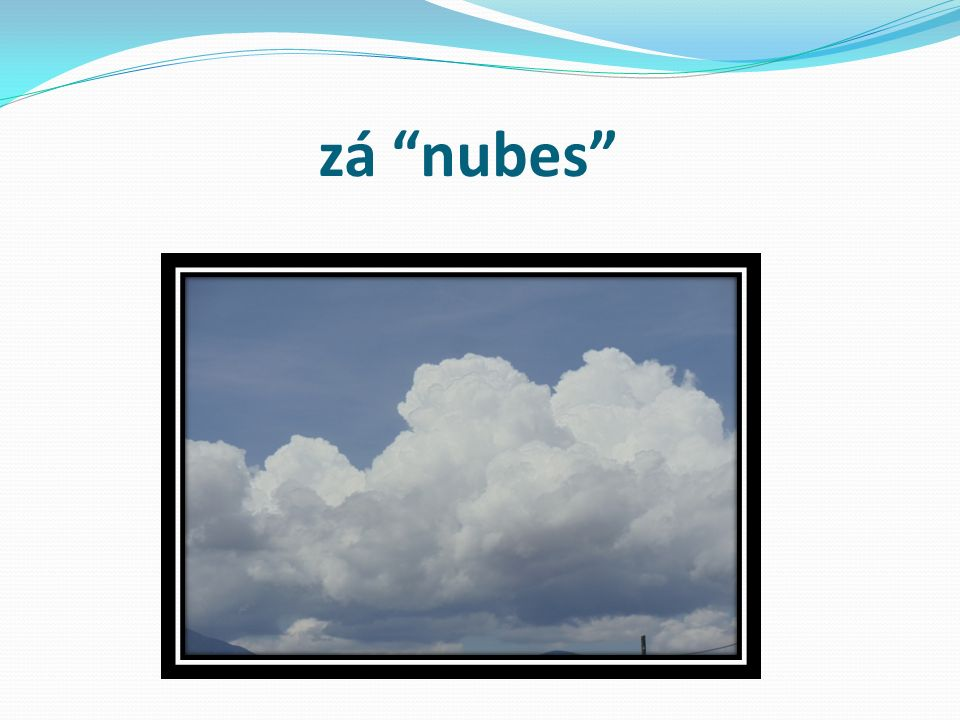 zá nubes