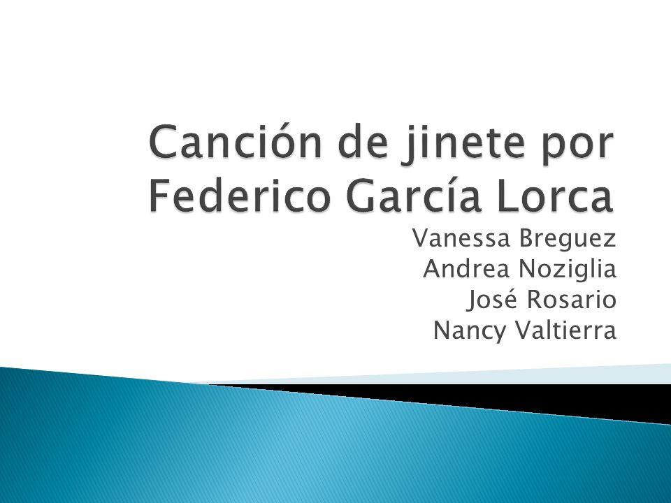 Canción de jinete por Federico García Lorca