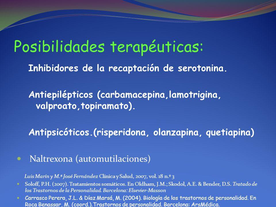 Posibilidades terapéuticas: