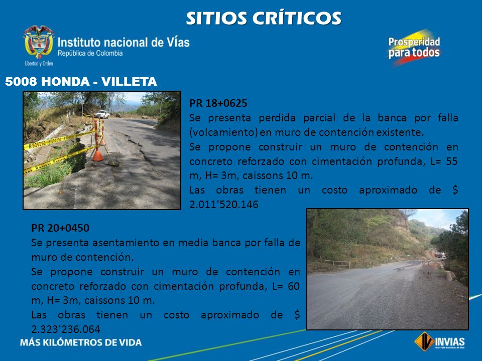 SITIOS CRÍTICOS 5008 HONDA - VILLETA PR 18+0625