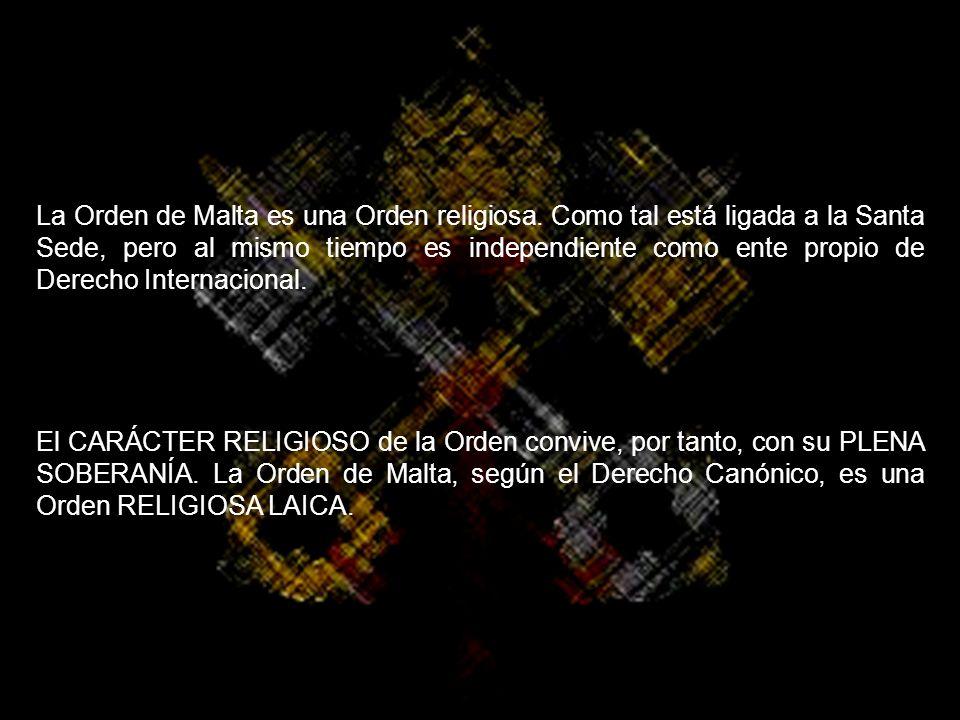 La Orden de Malta es una Orden religiosa