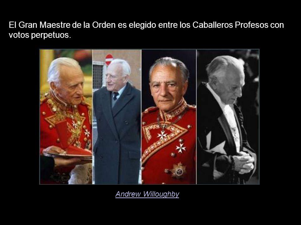 El Gran Maestre de la Orden es elegido entre los Caballeros Profesos con votos perpetuos.