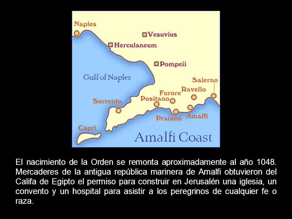 El nacimiento de la Orden se remonta aproximadamente al año 1048