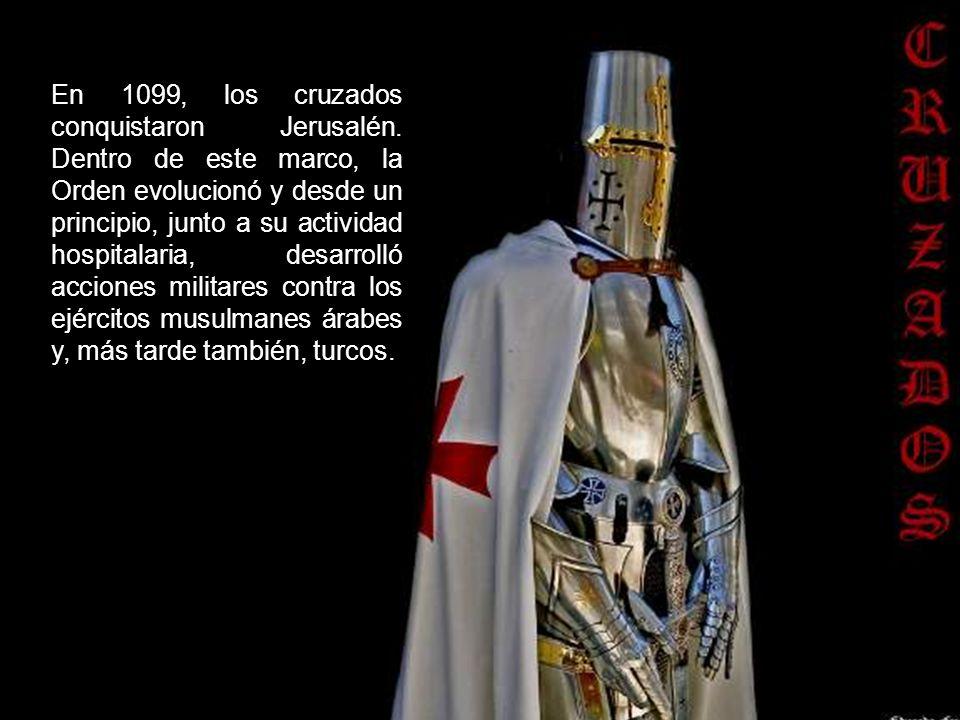 En 1099, los cruzados conquistaron Jerusalén