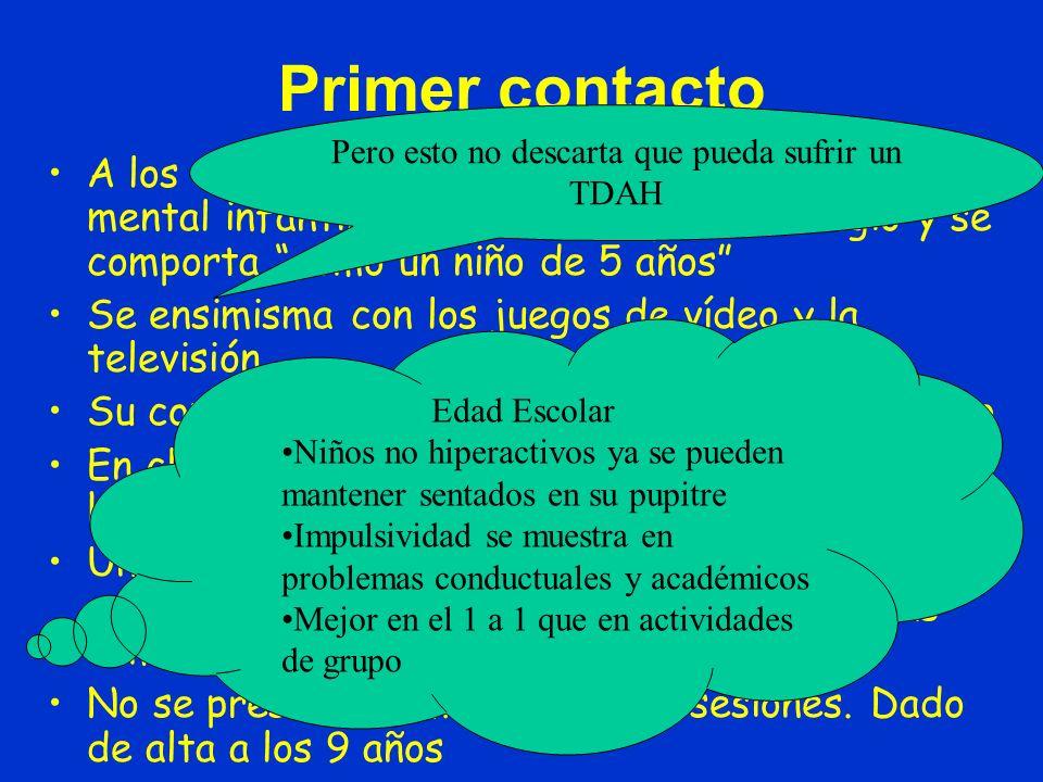 Primer Contacto (con el Servicio)