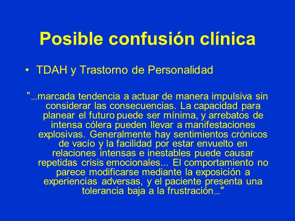 Posible confusión clínica