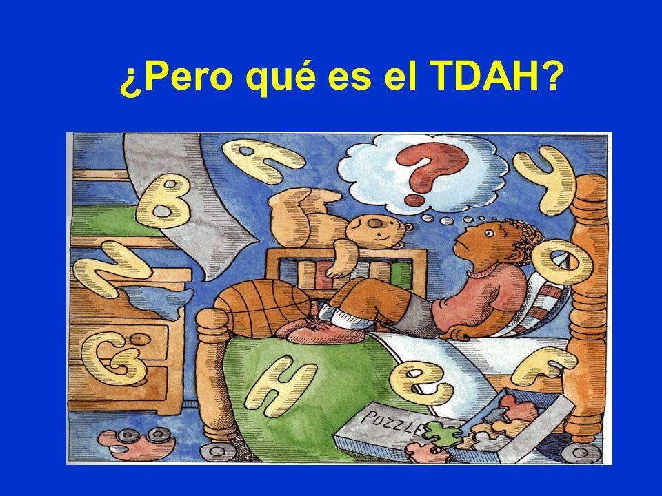 ¿Pero qué es el TDAH