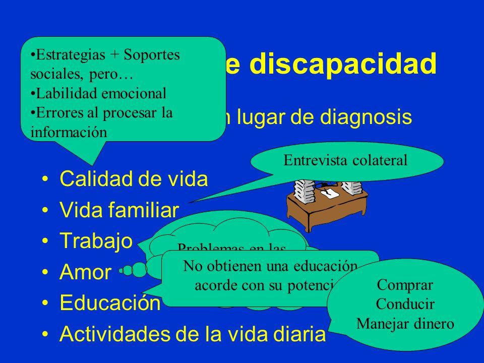 Valoración de discapacidad
