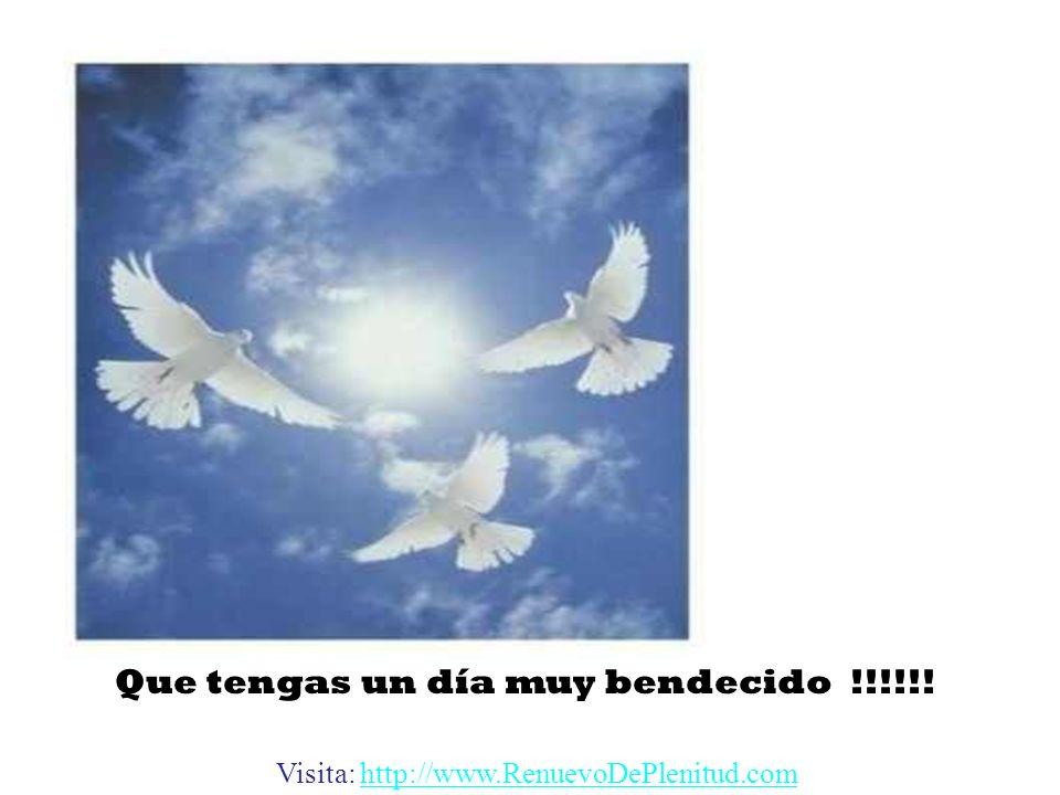 Que tengas un día muy bendecido !!!!!!