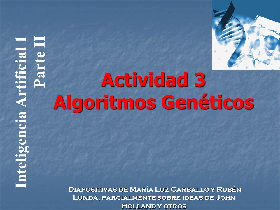Actividad 3 Algoritmos Genéticos