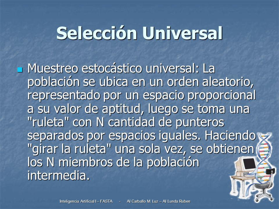 Selección Universal