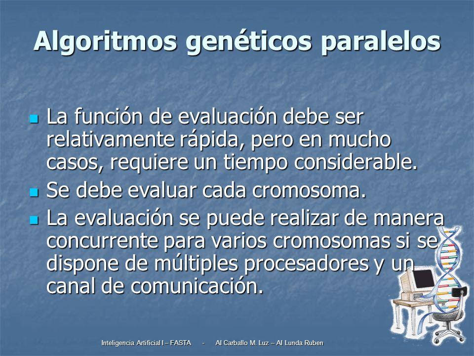 Algoritmos genéticos paralelos