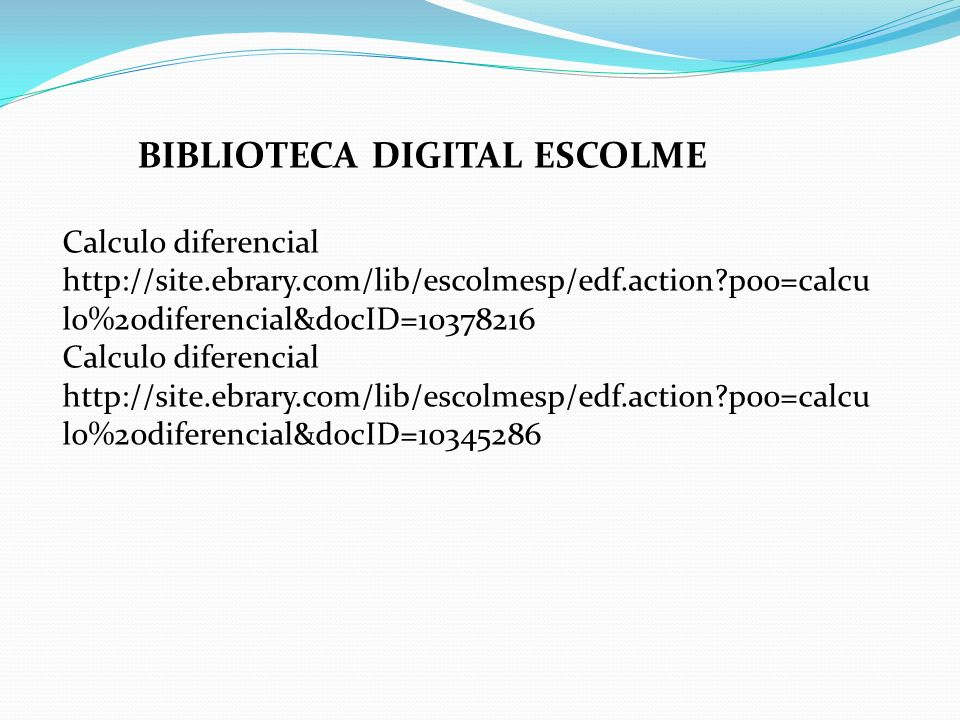 BIBLIOTECA DIGITAL ESCOLME
