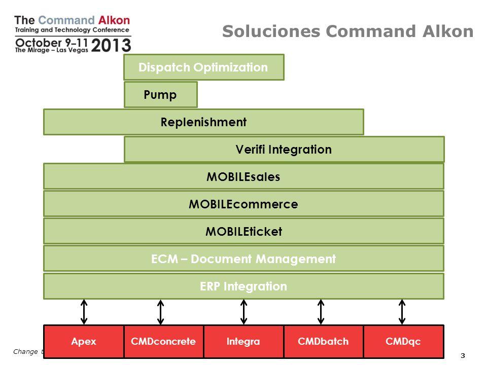 Soluciones Command Alkon