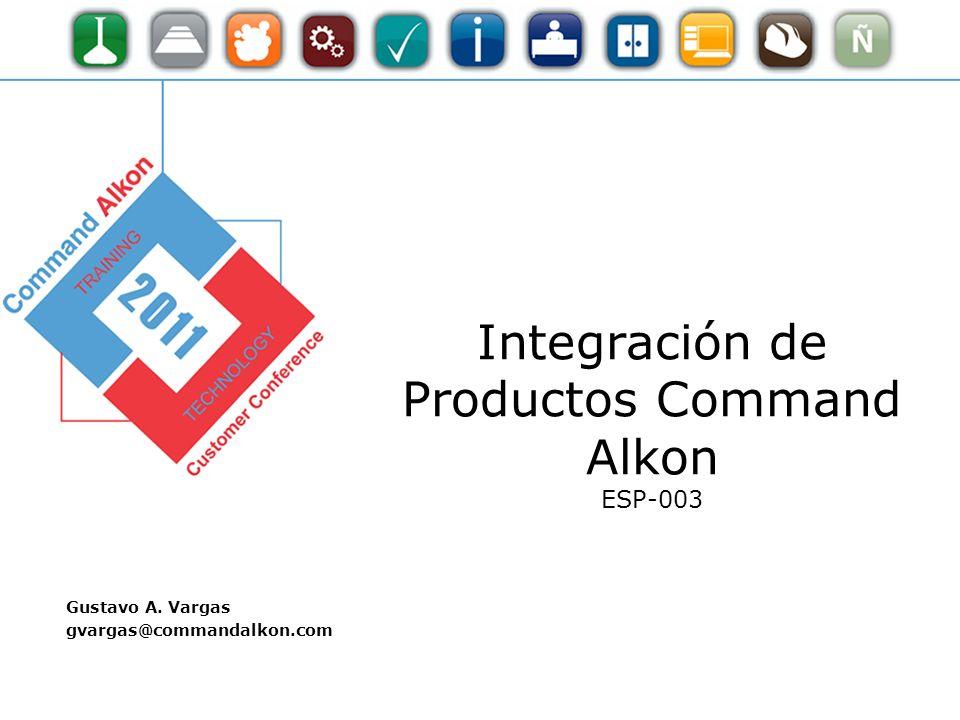 Integración de Productos Command Alkon ESP-003
