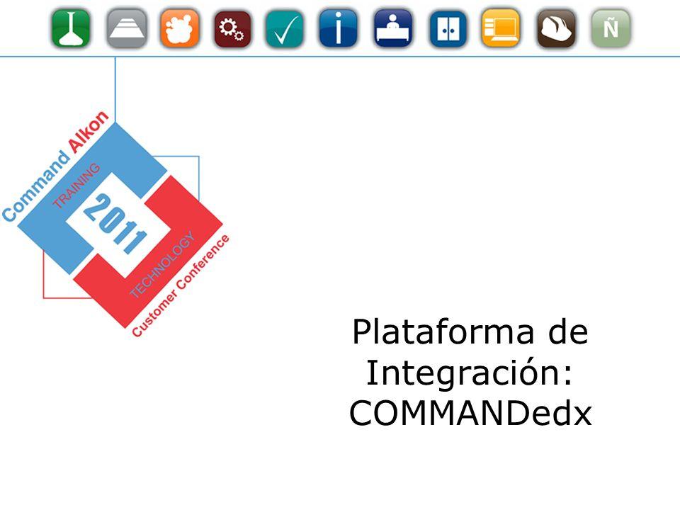 Plataforma de Integración: COMMANDedx